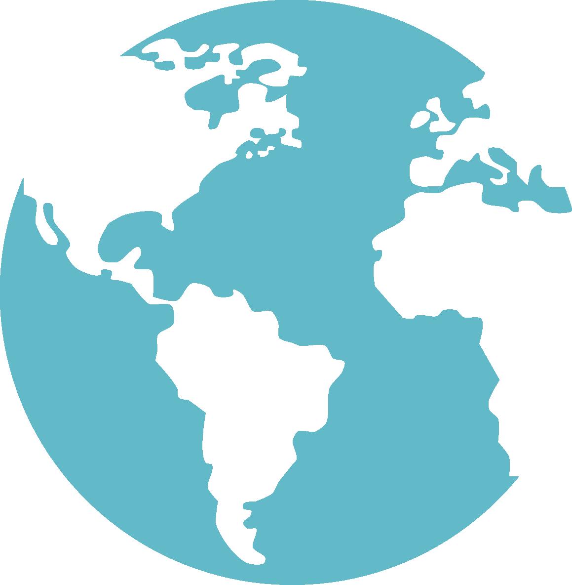 Mapa mundi océanos