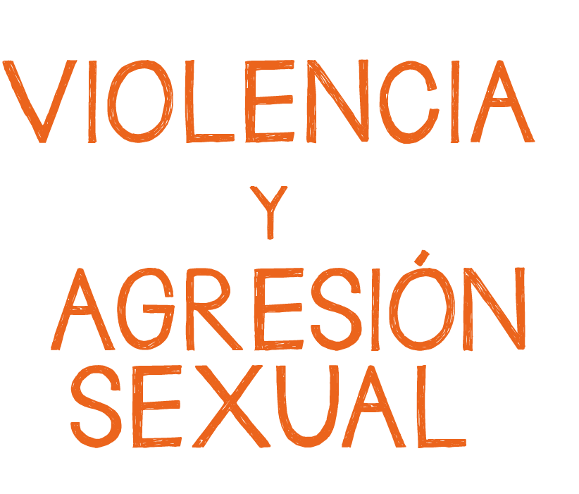 Expuesta a situaciones de violencia y agresión sexual