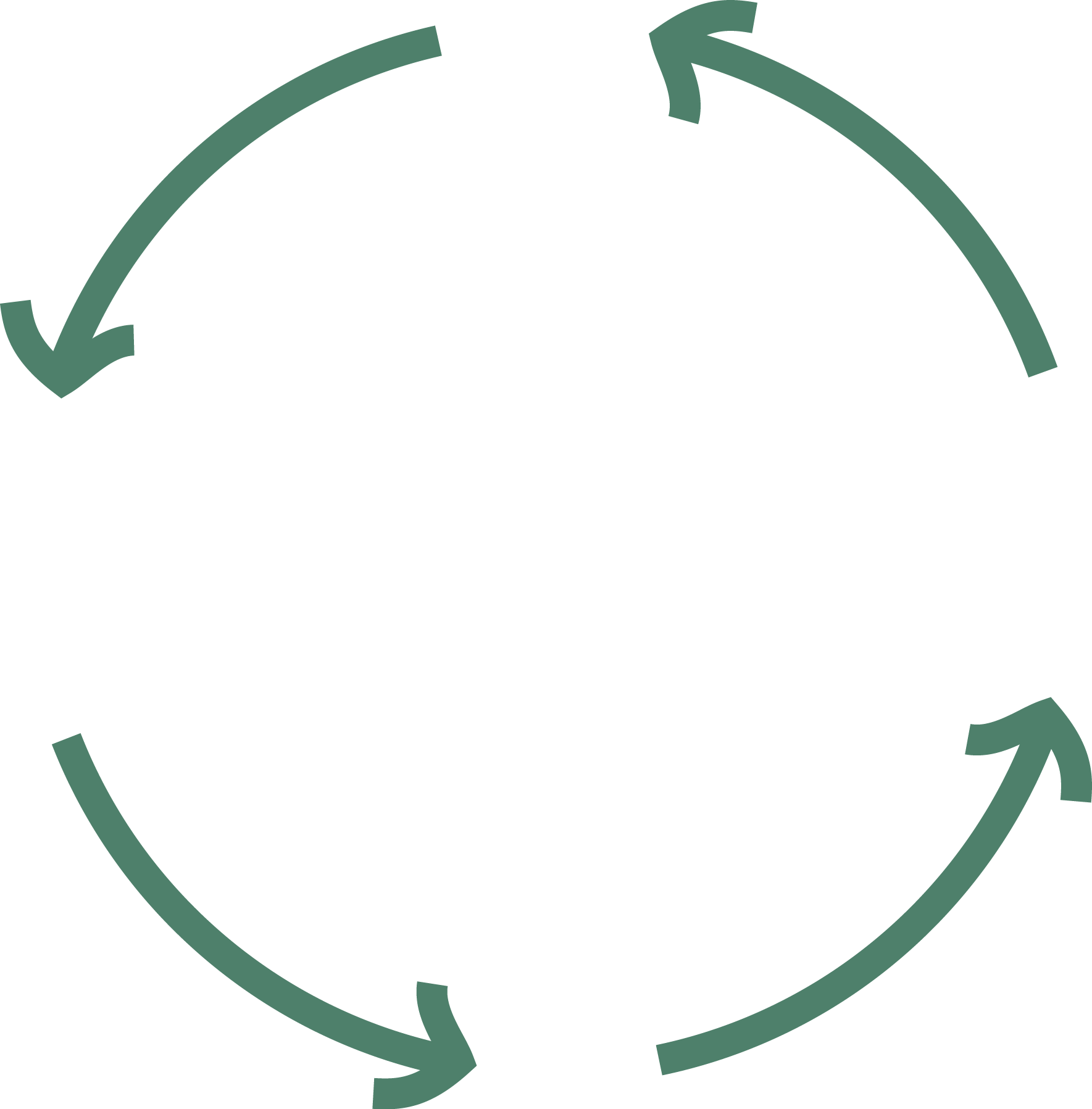 Imagen espiral de pobreza