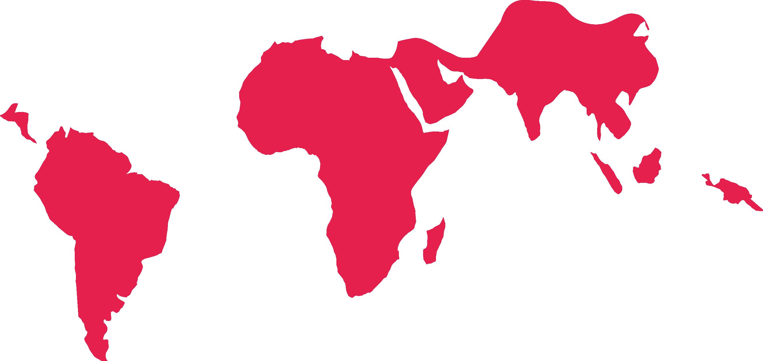 Mapa mundi pobreza