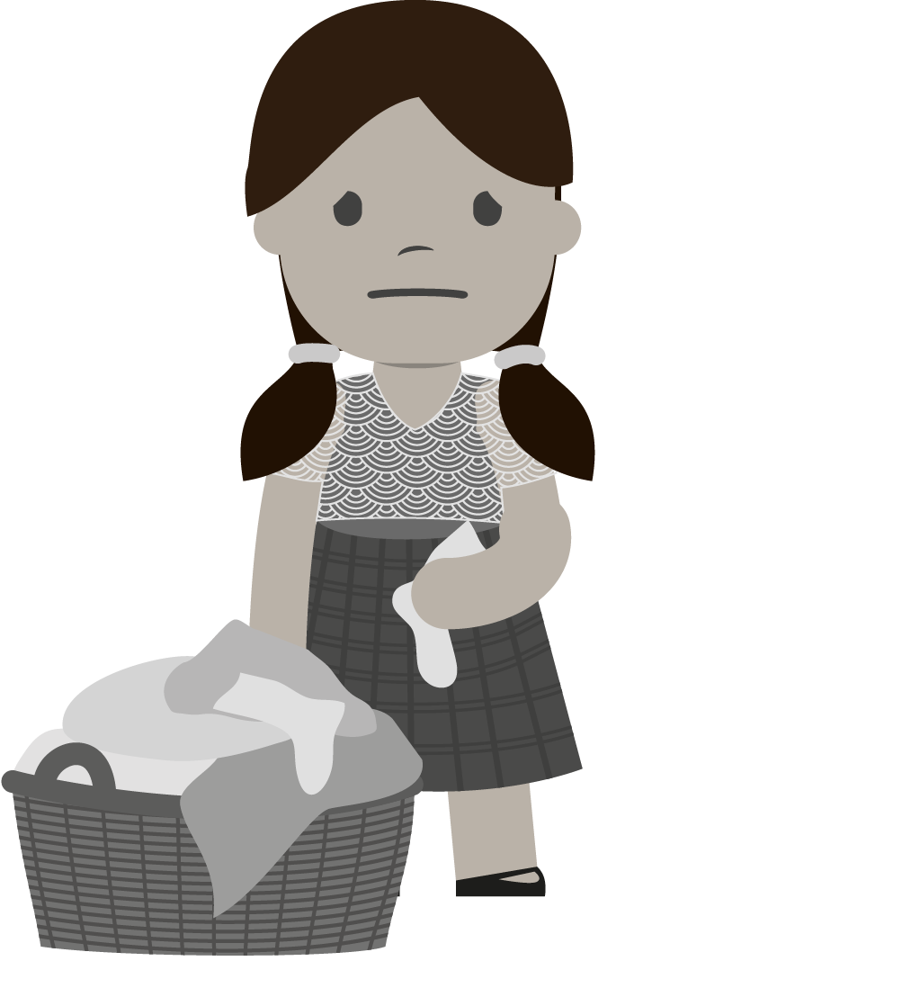 Martina lavandera gris