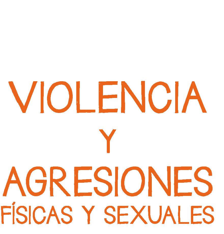 Los escenarios donde se suceden gran parte de situaciones de violencia y agresiones físicas y sexuales