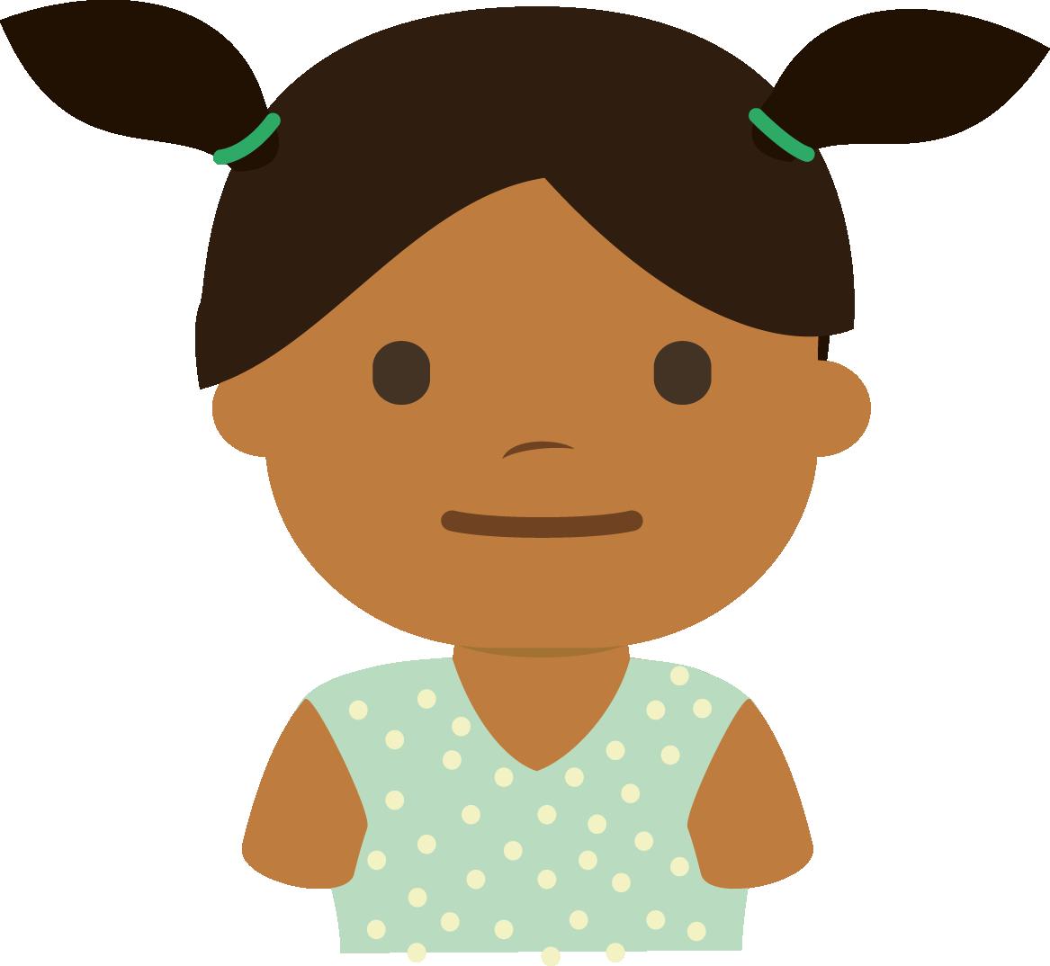 Martina con 2 años
